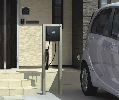 電気自動車対応 プラグインスタンド 電気ためちゃいます EP型