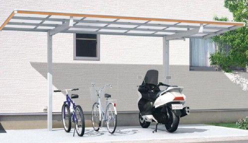 駐輪場 サイクルポート マイリッシュデラックス 三協アルミ