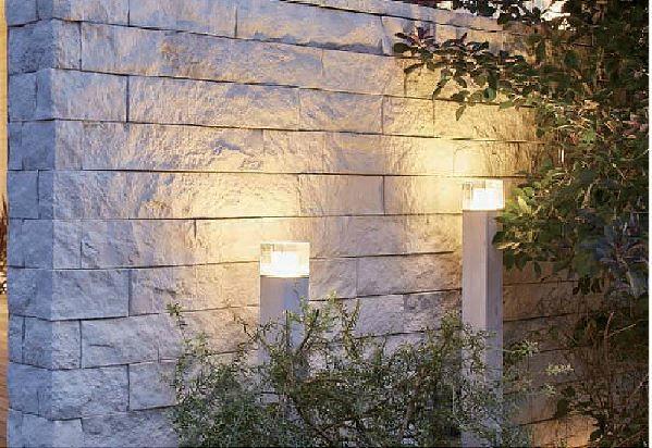 エバーアートポールライト トップ 拡散光 ガラスブロック TAKASHO
