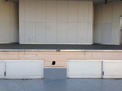 着工ステージ壁面補修工事