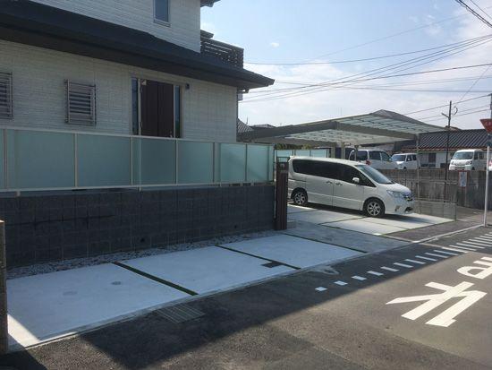 新築外構工事(北九州市小倉北区 K様邸)