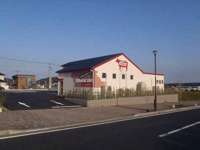 10月11日(木)OPEN!肉のひみつ基地 ひびきの店様 新築外構工事