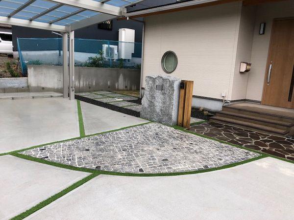 駐車スペース工事(北九州市門司区 O様邸)3